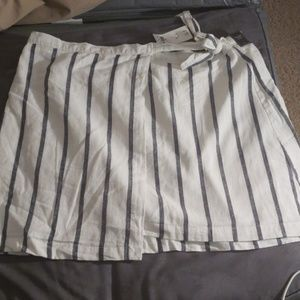 Abercrombie and Fitch wrap skirt